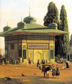Constantinople (detail) (Martinus Rørbye - )
