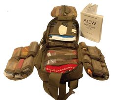 """Best & Ultimate EDC Special Utility & Survival Kit ACW """"Macgyver"""" bag (Ultimate Fully loaded """"Macgyver"""" kit)"""