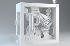 ADOBE NEO-CUBES is a series of Cubes inspired by the Adobe Suites logo designs. The Photoshop Neo-Cube is part 1 of 4 featuring the pen & magic wand tools.
