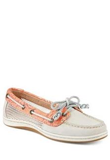 7b1af6399f0f Sperry Top-Sider Firefish Circle Mesh Boat Shoe for Women in Ivory Sperry  Top Sider