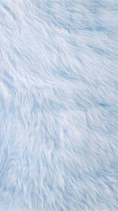 White fur wallpaper
