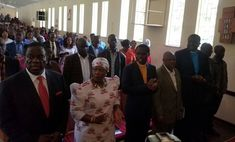 LATEST MNANGAGWA FAMILY PICTURES BY ZBC: President Given Front Row In Church Service This Morning - ZimEye - Zimbabwe News - http://zimbabwe-consolidated-news.com/2017/12/24/latest-mnangagwa-family-pictures-by-zbc-president-given-front-row-in-church-service-this-morning-zimeye-zimbabwe-news/