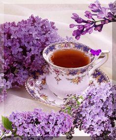 Анимированное фото Good Morning Tea, Good Morning Greetings, Afternoon Tea, Coffee Gif, Coffee Love, Gif Café, Tea Gif, Coffee Pictures, All Things Purple