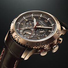 Breguet Type XXII 3880 was introduced at Baselworld earlier this year. Breguet Type XXII 3880 For this watch, for the second consecutive ye . Fine Watches, Cool Watches, Rolex Watches, Wrist Watches, Analog Watches, Luxury Watch Brands, Luxury Watches For Men, Breitling, Expensive Watches