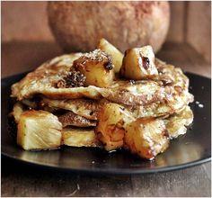 Coconut and rice pancakes,vegan