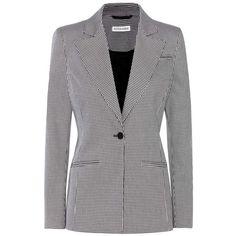 Altuzarra Acacia Blazer (2 205 AUD) ❤ liked on Polyvore featuring outerwear, jackets, blazers, black, blazer jacket and altuzarra