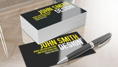 20 Absolutely Free PSD Business Card Templates For Download | HybridLava