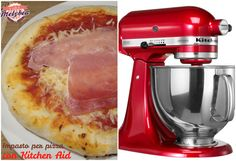 impasto per pizza con kitchenaid Kitchen Aid Recipes, Kitchen Aid Mixer, Kitchen Aide, Luigi, Stand Mixer Recipes, Pizza Kitchen, Kitchenaid Artisan, Cooking Chef, Cooking Tools