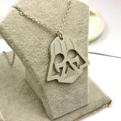 Star Trek Necklace Mask Pendant | Thesitcompost.com
