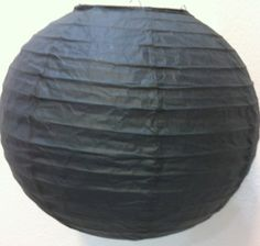 "12 Chinese Japanese Black Paper Lanterns 10"" by cn. $26.99. The lanterns are good for decoration or party use."