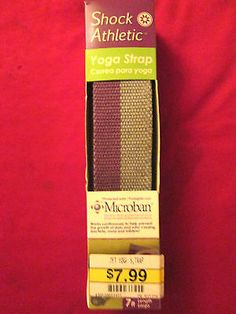 7ft. length Yoga Strap with Micro-ban Protection, New, Unused, still in box - http://sports.goshoppins.com/exercise-fitness-equipment/7ft-length-yoga-strap-with-micro-ban-protection-new-unused-still-in-box/