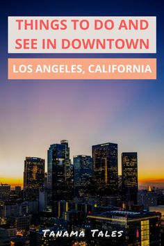 Things to do in Downtown Los Angeles, Southern California | Downtown Los Angeles has become one of the hottest sections of the big city. My extensive guide provides details on what to see and do, what restaurants to eat, the best skyline photography spots, the tours to join, the markets to visit, and the places to get the best views at night | Los Angeles Travel Guide | Los Angeles with Kids | Los Angeles Weekend | What to do in Los Angeles Los Angeles Day Trips, Los Angeles Travel Guide, Downtown Los Angeles, Usa Travel Guide, Travel Usa, Budget Travel, Travel Tips, California Destinations, California Travel