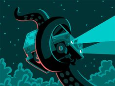 New Illustrations by Chi Birmingham | Inspiration Grid | Mistery machine Design Inspiration