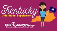Stationed in This supplement offers activities, fast facts, learning games, and even freebies / discounts for Homeschool Curriculum, Homeschooling Resources, Learning Games, Social Studies, Kentucky, Fun Facts, Unit Studies, The Unit, Education