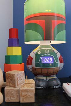 Boba Fett Lamp/Clock