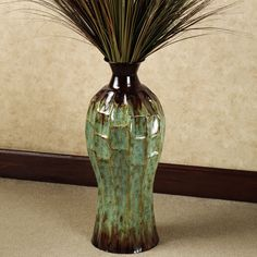 large floor vase arrangement designed by sandra macpherson my design capture pinterest. Black Bedroom Furniture Sets. Home Design Ideas