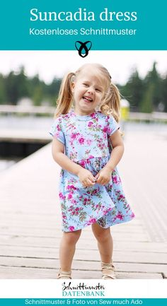 Dress Free Pattern for Girls free girls dress pattern: size Eliana would look great in this this summer!free girls dress pattern: size Eliana would look great in this this summer! Toddler Dress Patterns, Girl Dress Patterns, Sewing Patterns For Kids, Sewing For Kids, Baby Sewing, Knitting Patterns, Clothes Patterns, Skirt Patterns, Coat Patterns