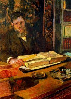 Édouard VuillardArthur Fontaine, 1906.
