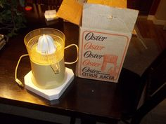 Vintage Oster Automatic Citrus Juicer Electric Model Tested and Works   eBay