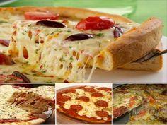 Receita Massa básica para Pizzas