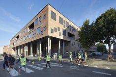 Klettertreppen und Tarzanschwingen - Schule in Aarhus von Henning Larsen