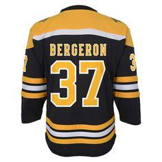 Boys 8-20 Boston Bruins Patrice Bergeron Replica Jersey b044e2802
