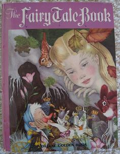 Antique Fairy Tale book from the 1950s