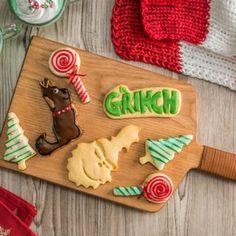 Galletas de El Grinch Grinch, Chile Guajillo, Gingerbread Cookies, Holiday, Desserts, Victoria, Youtube, Baby Puree Recipes, Flower