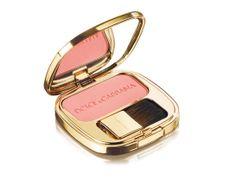 """Luminous Cheek Colour """"Rose"""" de Dolce & Gabbana The Make Up http://www.vogue.fr/beaute/shopping/diaporama/make-up-griffe/16071/image/877994#!luminous-cheek-colour-quot-rose-quot-de-dolce-amp-gabbana-the-make-up"""