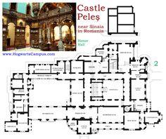 Peles Castle Floor Plan 6th Floor Architectural Floor