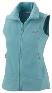 COLUMBIA Fast Trek Fleece Vest. Color= Iceberg. $45