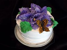 Beautiful Birthday Cake by Incredible Icing