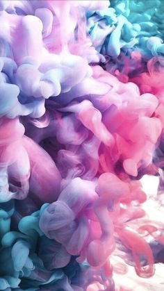 Girly Smoke Wallpaper