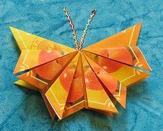 Hobbyboden's Inspirationsside - Sommerfugl i teposer