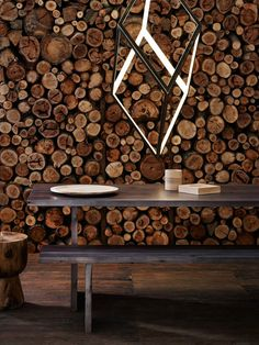 Wood Wall | The Design Files