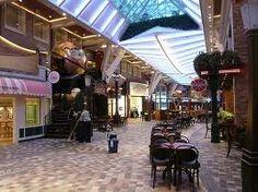 shops on the promenade