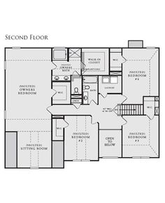 Russell Plan at Hampton Oaks in Fairburn Georgia 30213 by Crown