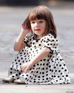 Suri Cruise is too precious.Uper cute little girl
