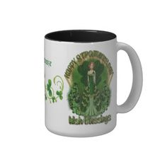 Personalized Irish Blessings St Patrick's Day Mug