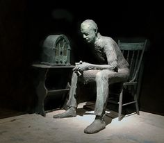 The Life and Art of George Segal Line Sculpture, Modern Sculpture, George Segal, American Artists, The Life, Contemporary, Metal, Artwork, Image