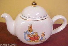 Beatrix Potter's Peter Rabbit teapot