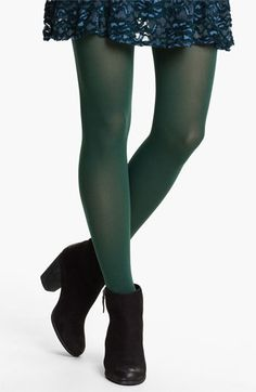 Free People Opaque Tights available at #Nordstrom