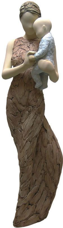 Precious Gift-Mother with Infant/Newborn Statue. Available at AllSculptures.com