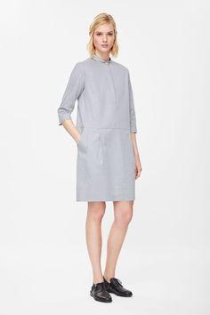 Dotted tunic dress