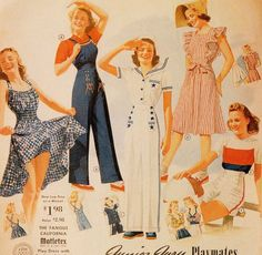Sears catalog, and the image below is from Spring and Summer 1941.