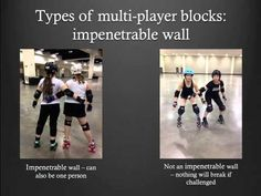 Roller Derby Referee Training - MultiPlayer Blocks - Ref-Ed.com - YouTube