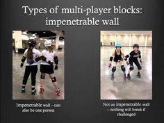 Roller Derby Referee Training - MultiPlayer Blocks - Ref-Ed.com - YouTube