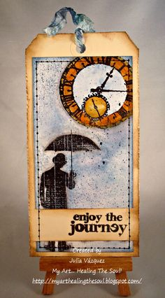 My Art... Healing the Soul!: Tim Holtz 12 Tags of 2015 - April