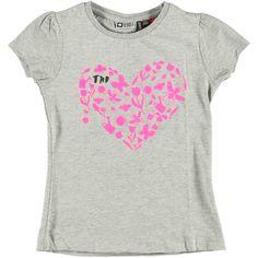 T-Shirt Grey | Tumble n Dry | Daan en Lotje https://daanenlotje.com/kids/meisjes/tumble-and-dry-t-shirt-grey-001180