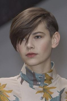 This fantastic pixie cut is quite lovely and charming to look at. It is defined by those short sides and back. Likewise, it has those lovely long bangs which slightly cover the side of the face - See more at: http://www.short-haircut.com/best-trendy-short-hairstyles.html#sthash.BaKs4IT6.dpuf